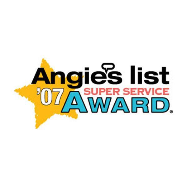 2007 Angie's List Super Service Award | Arizona Painting Company