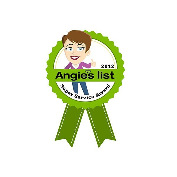 2012 Angie's List Super Service Award | Arizona Painting Company