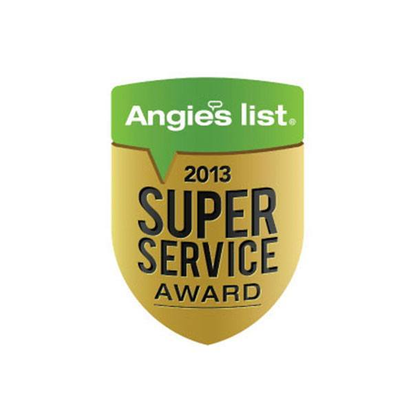 2013 Angie's List Super Service Award | Arizona Painting Company