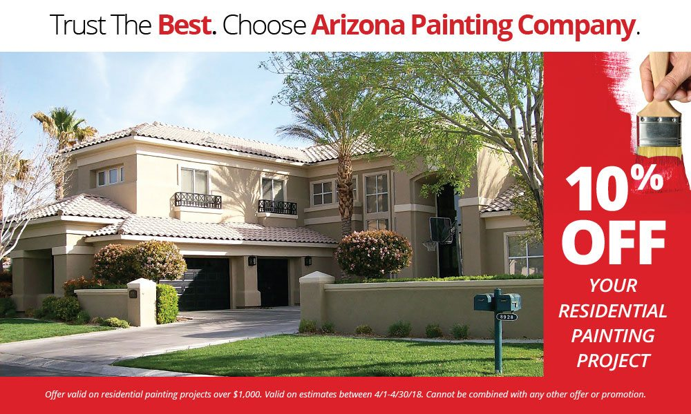 Save 10% on Your Residential Painting Project!