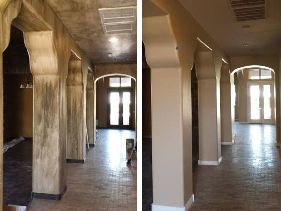 Before After Painting Jobs Galleries Arizona