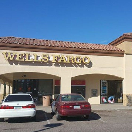 Commercial Business Plaza | Commercial Exterior Painting | Arizona Painting Company