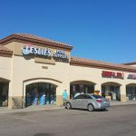 Commercial Business Plaza   Commercial Exterior Painting   Arizona Painting Company
