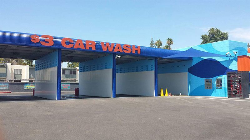 Phoenix Car Wash Commercial Galleries Arizona Painting