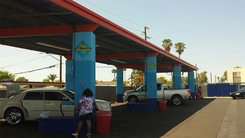 Phoenix car wash commercial galleries arizona painting company phoenix car wash exterior painting phoenix painting commercial painting project commercial exterior painting solutioingenieria Image collections