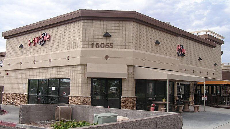 Commercial strip mall galleries arizona painting company for Exterior painting scottsdale az