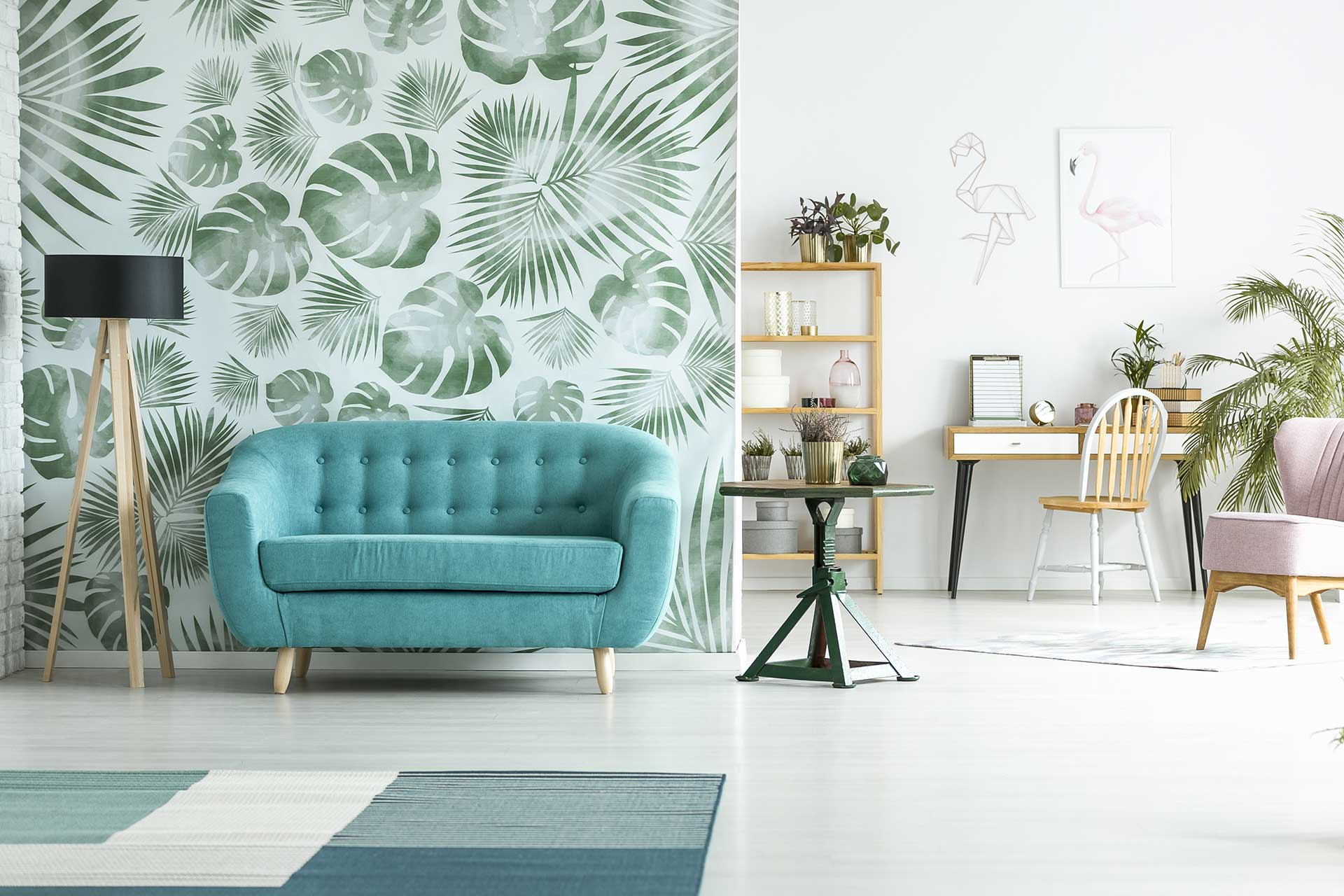 Wallpaper: Paint Over It or Remove It | Blog | Arizona Painting Company